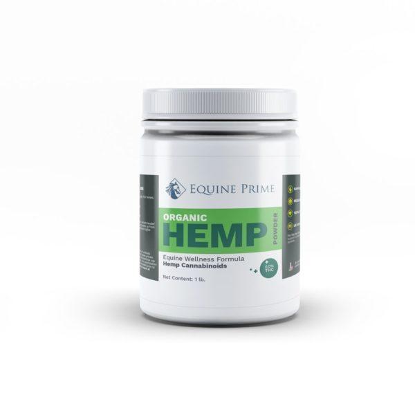 Equine Prime Organic Hemp Powder 1lb